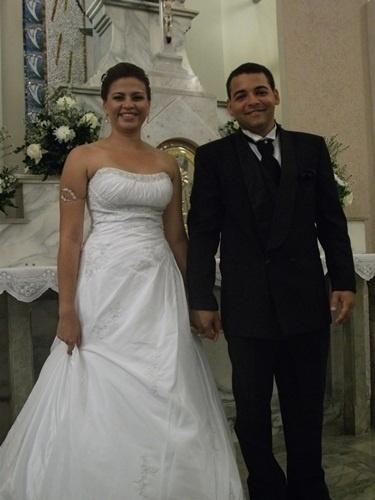 O casamento de Wellington Reis e Rafaela Amorim foi em Salvador (BA), no dia 10 de setembro de 2011.