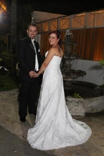 Paulo Cassio de Oliveira Pereira e Talitha Amorim Cruz Pereira, de São Bernardo do Campo (SP), se casaram em 23 de novembro de 2012.