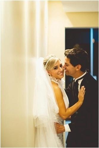Rafael Klingstron e Bruna Klingstron, de Igrejinha (RS), se casaram em 22 de outubro de 2012.