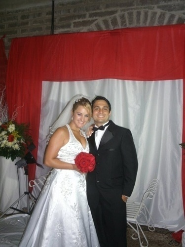 Rodrigo Krug e Moane Marchesan Krug são de Cruz Alta (RS). Eles se casaram em 26 de fevereiro de 2011.