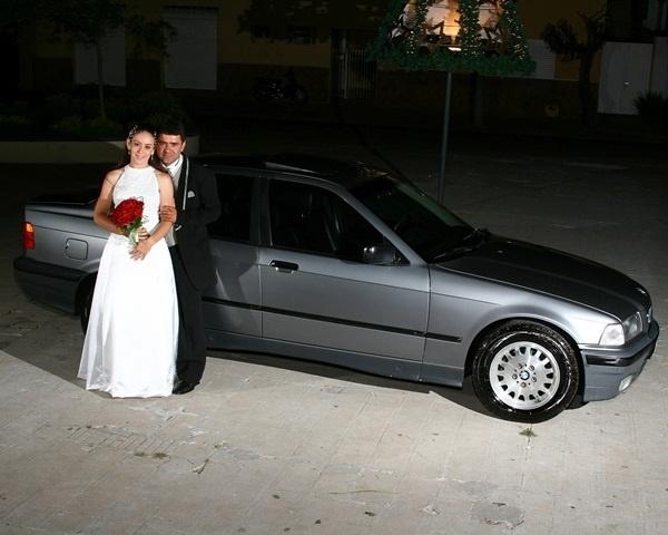 Anderson Santamarina se casou com Patricia Fernandes Camara Santamarina em São João da Boa Vista (SP), no dia 28 de novembro de 2008.