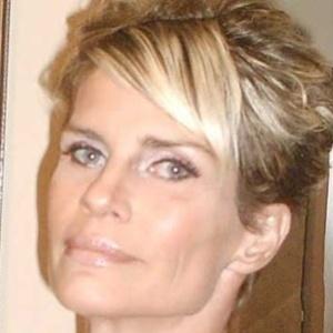 A modelo Doris Giesse