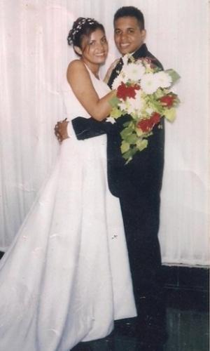 """O casamento de Anselmo e Ana Paula Lima foi no Rio de Janeiro (RJ), no dia 7 de janeiro de 2007. """"Foi o dia mais lindo e abençoado de nossas vidas"""", conta os noivos"""
