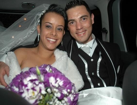O casamento Fabricio Pereira da Silva e Aline Batista Ribeiro da Silva foi em Itu (SP), no dia 9 de agosto de 2008.