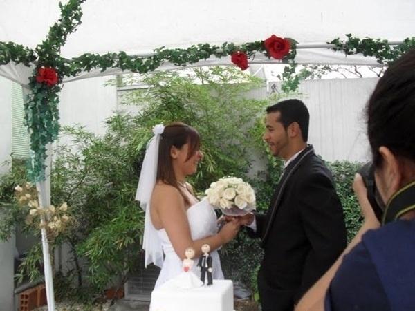 Valmir Silva e Debora Anacleto se casaram em São Paulo (SP), no dia 4 de junho de 2011.