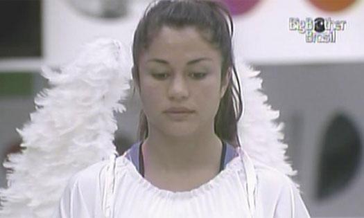 Maria vence a terceira prova do anjo (28/1/11).
