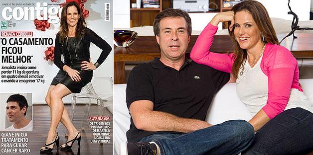 Em entrevista à revista 'Contigo!', Renata Ceribelli falou sobre a perda de onze quilos, depois de participar do 'Medida Certa', quadro do programa 'Fantástico', da TV Globo, e também do medo de pagar mico no reality show.