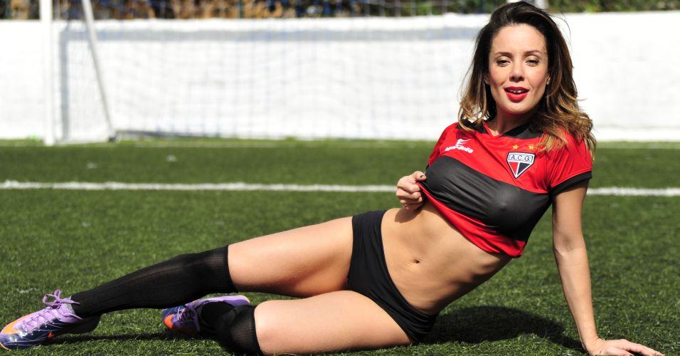 Grazy Alcântara é a gata do Atlético-GO