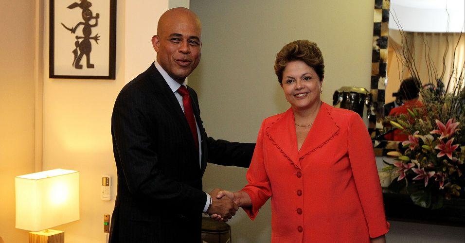 Quarta-feira (1/2) - Presidente Dilma Rousseff se reúne com o presidente do Haiti, Michel Martelly, em Porto Príncipe, durante sua visita oficial ao país. A presidente realiza visitas oficiais a Cuba e ao Haiti.