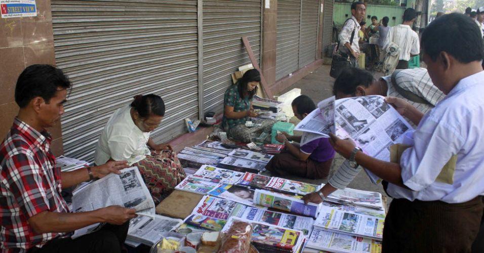 Mianmar alivia repressão