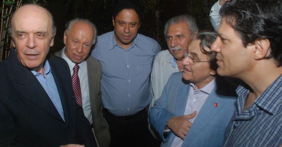 Encontro de Serra e Haddad