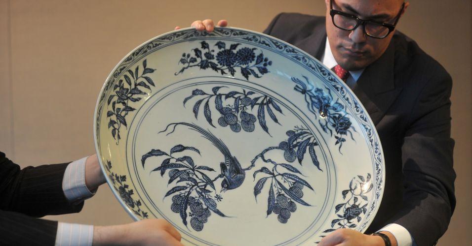 Leilão de porcelanas chinesas