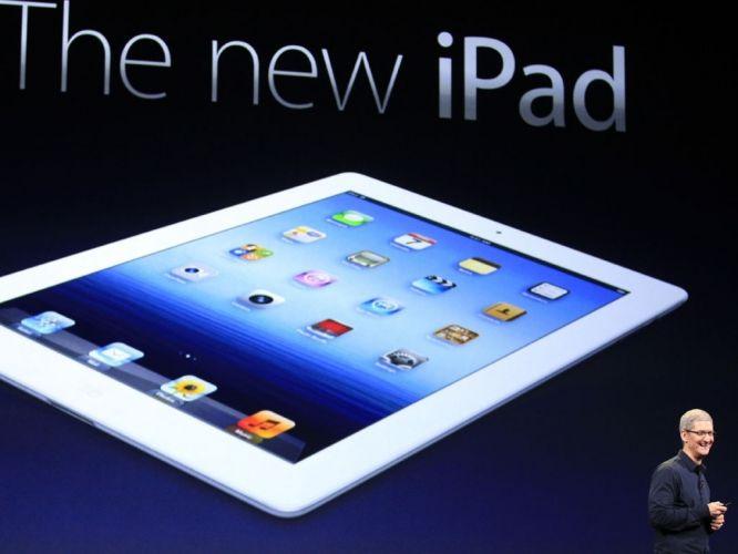 Quarta-feira (7/3) - A Apple anunciou a nova versão do iPad em evento no Yerba Buena Convention Center, na Califórnia, EUA. O tablet tem processador duas vezes mais rápido que o iPad 2 e tela de ultradefinição, porém está 50 gramas mais pesado que o anterior e 0,6 milímetro mais grosso. A Apple não chamou a novidade de 'iPad 3', como era esperado; anunciou apenas como 'novo iPad'.